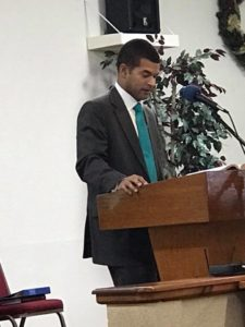 Tim Taylor Preaching